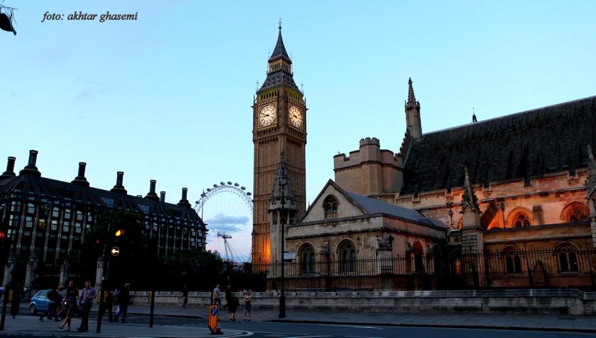 ساعت بیگ بن سمبل لندن