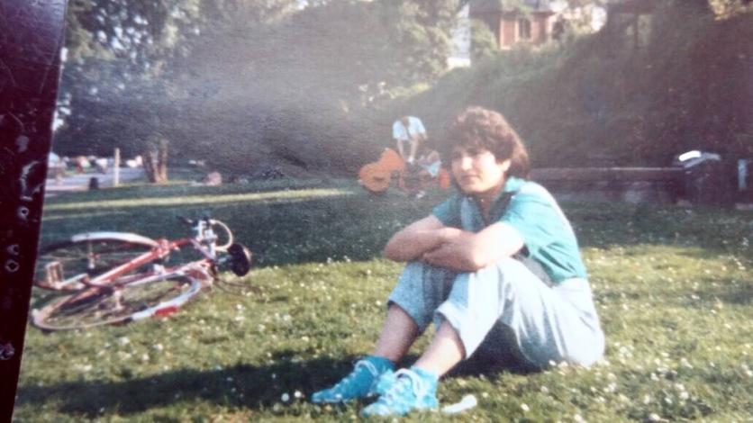 عکسی از اولین روزهایی که به کلن آمدم